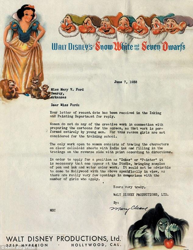 DisneyLetter1938