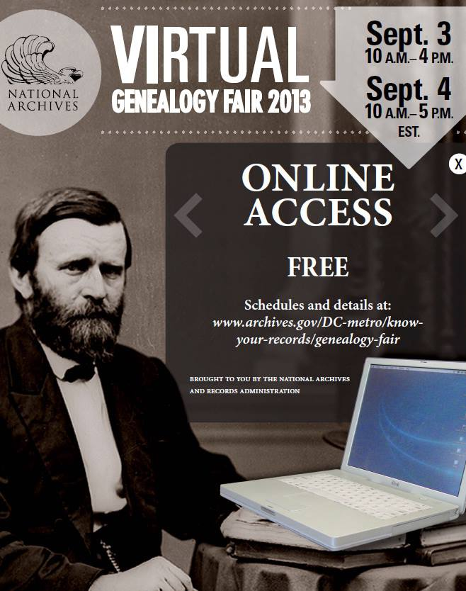 Virtual Geneology Fair