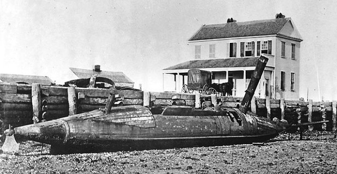 CSS David was a Civil War-era torpedo boat. On October 5, 1863, she undertook a partially successful attack on the USS New Ironsides during the blockade of the Charleston, SC.