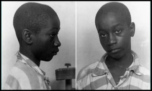Fourteen year old George Stinney Jr. was executed in 1944 for murder.