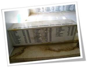 Names of USS Arizona survivors interred with their shipmates