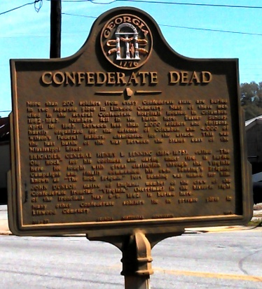 LinwoodCemetery_ConfederateDead